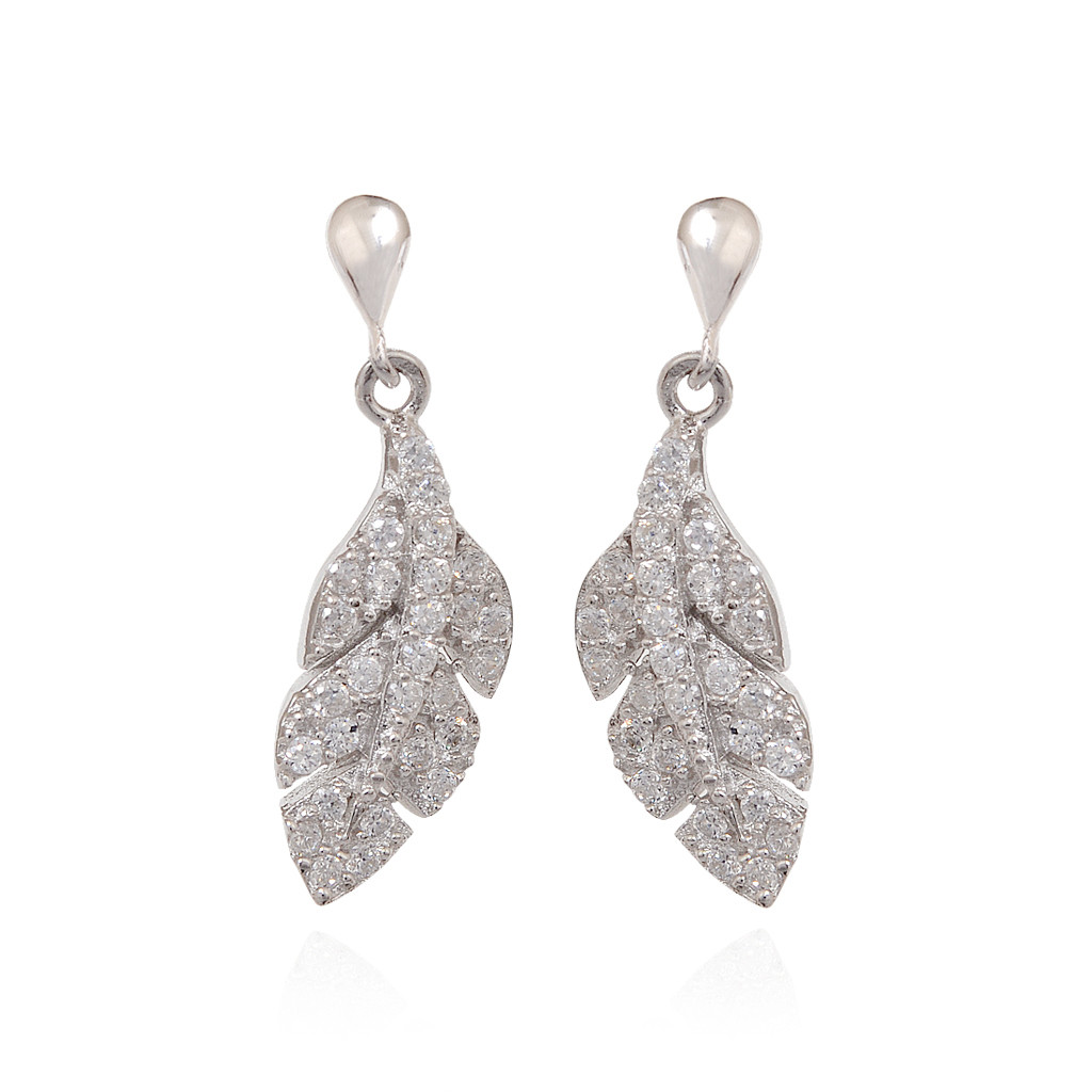 The Aristocrat Silver Earring