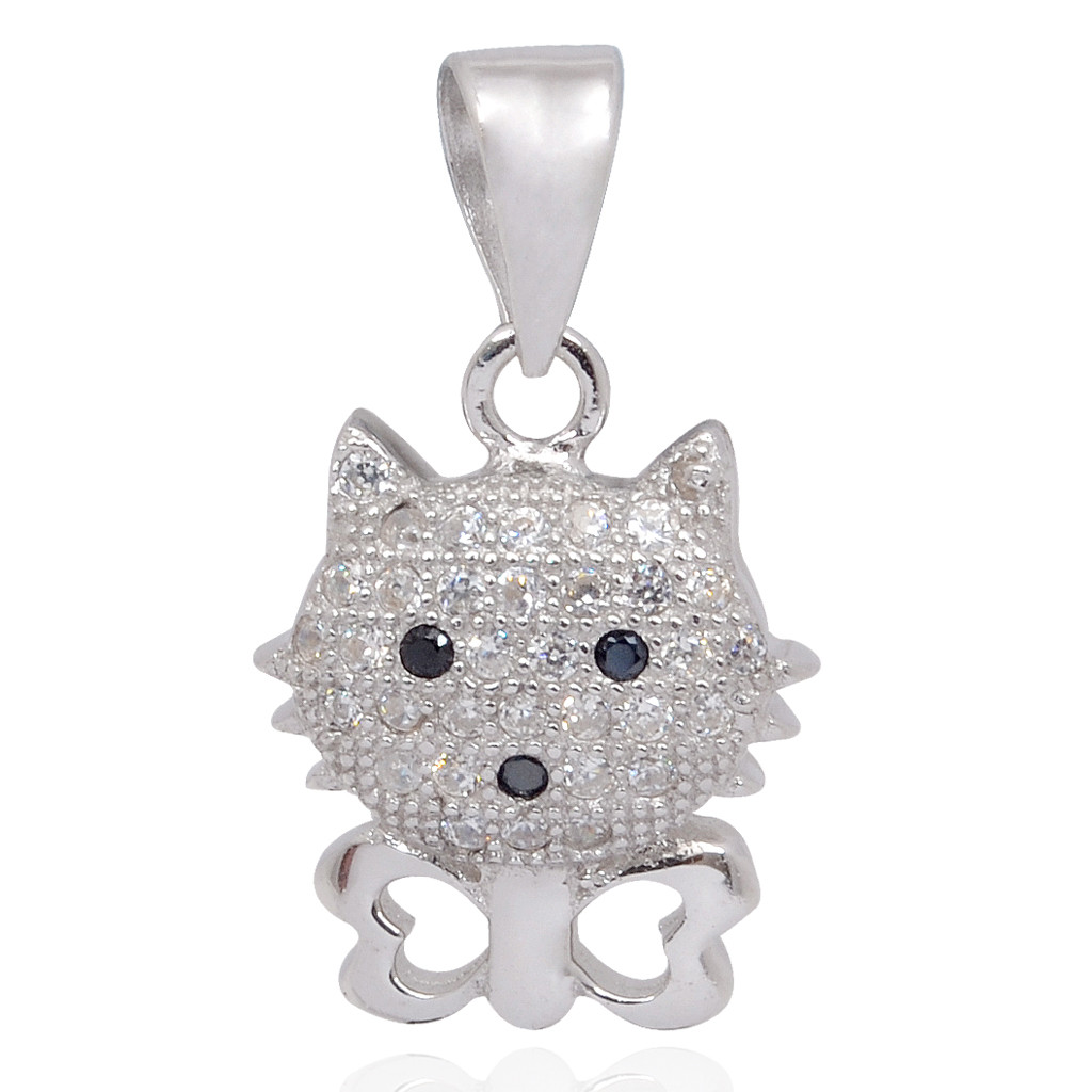The Top Cat Silver Pendant