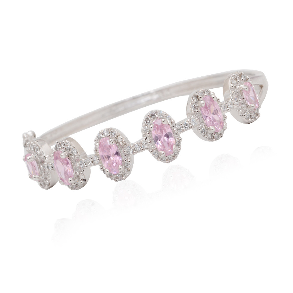 New style fashion Silver bracelet with Zircon Stone