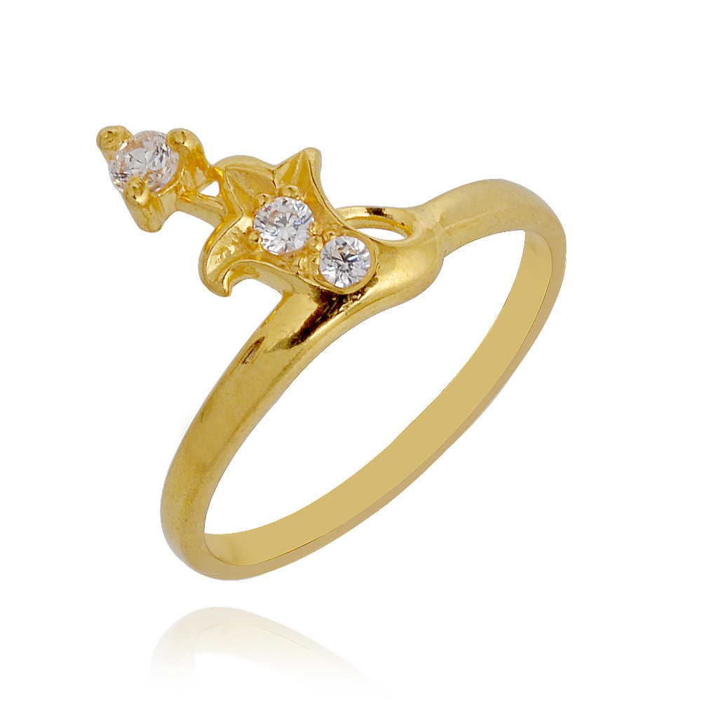 collection stelar 3 gold baby ring grt