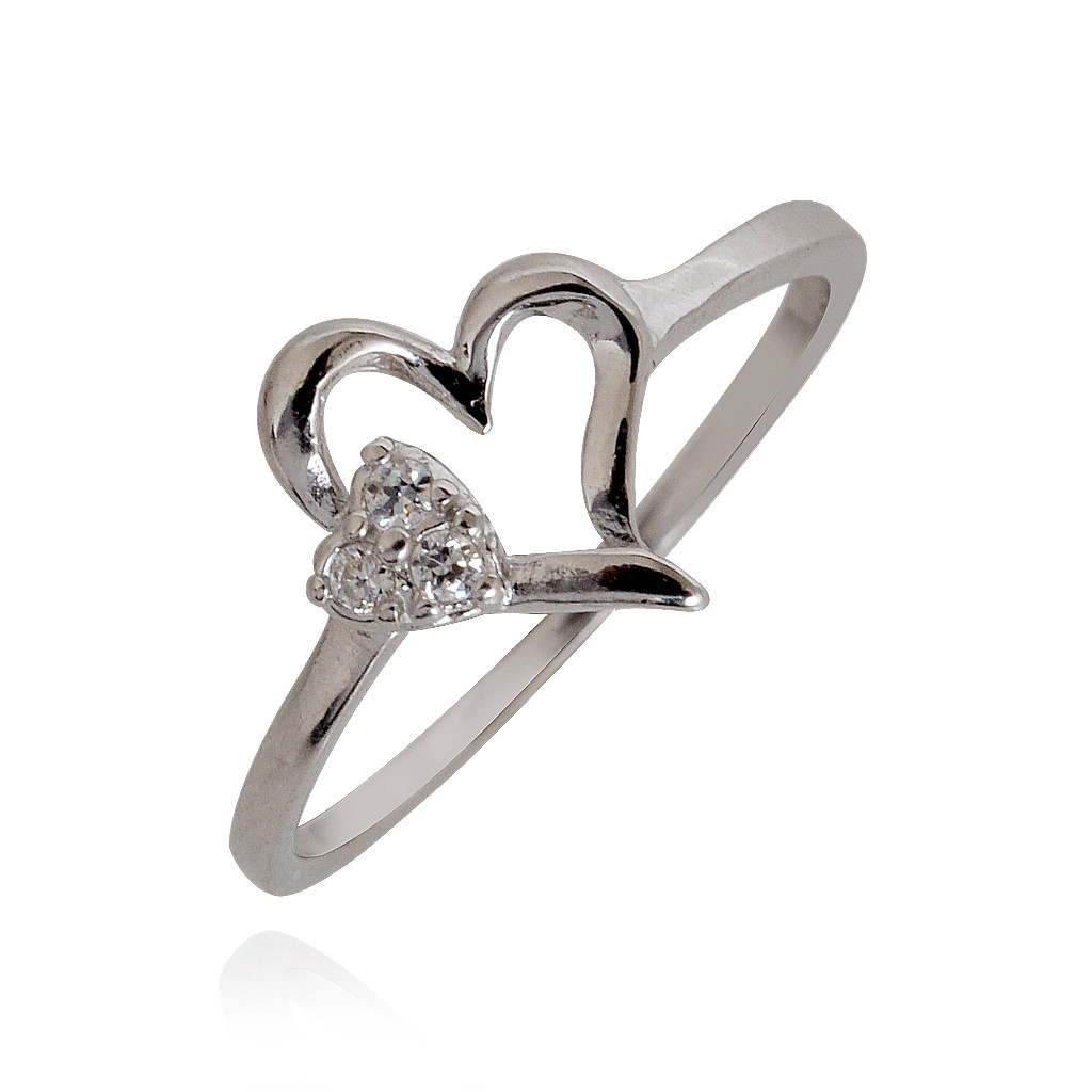 Symbol of Love Silver Ring