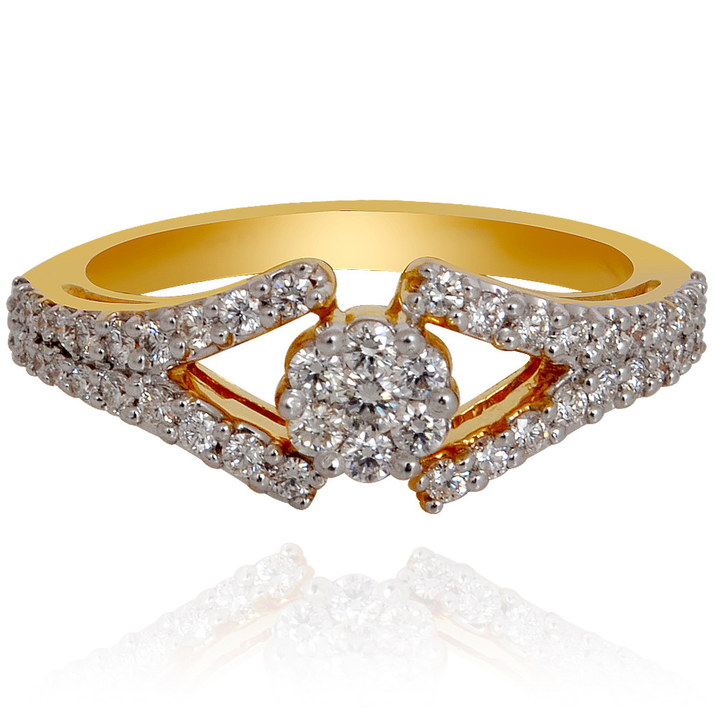 The Feminine Diamond Ring