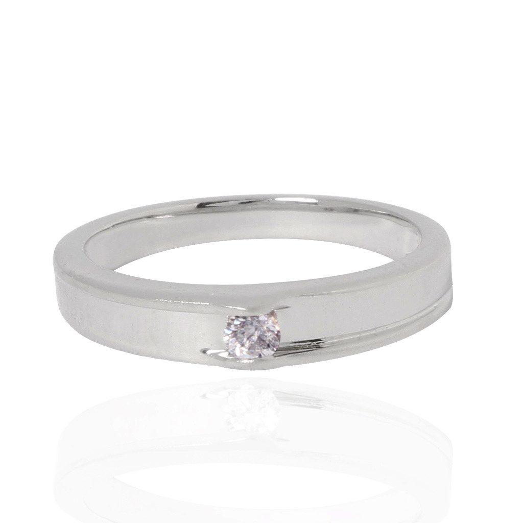 The Riviera Platinum Love Ring