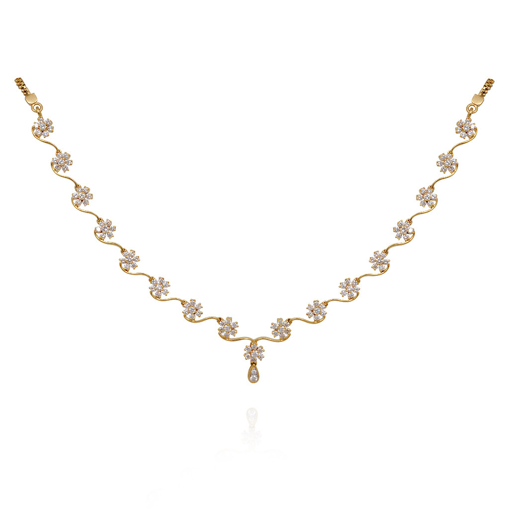 Mesmerizing Of Love Diamond Necklace