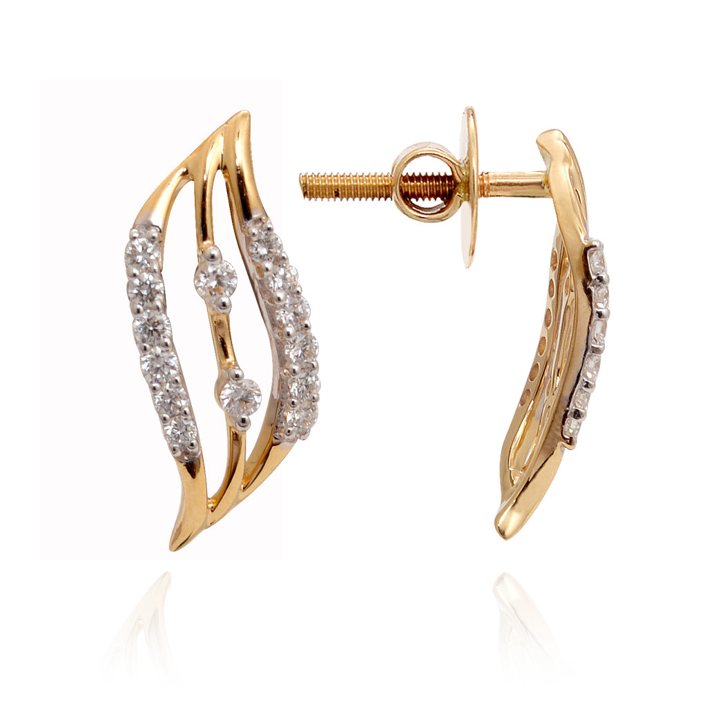 THE ACHALA DIAMOND EARRING