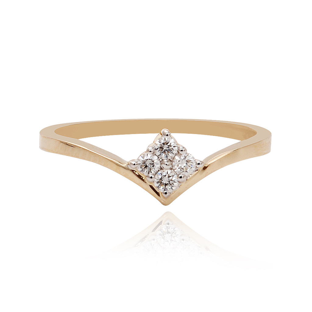 Hamesha Crossover Diamond Ring