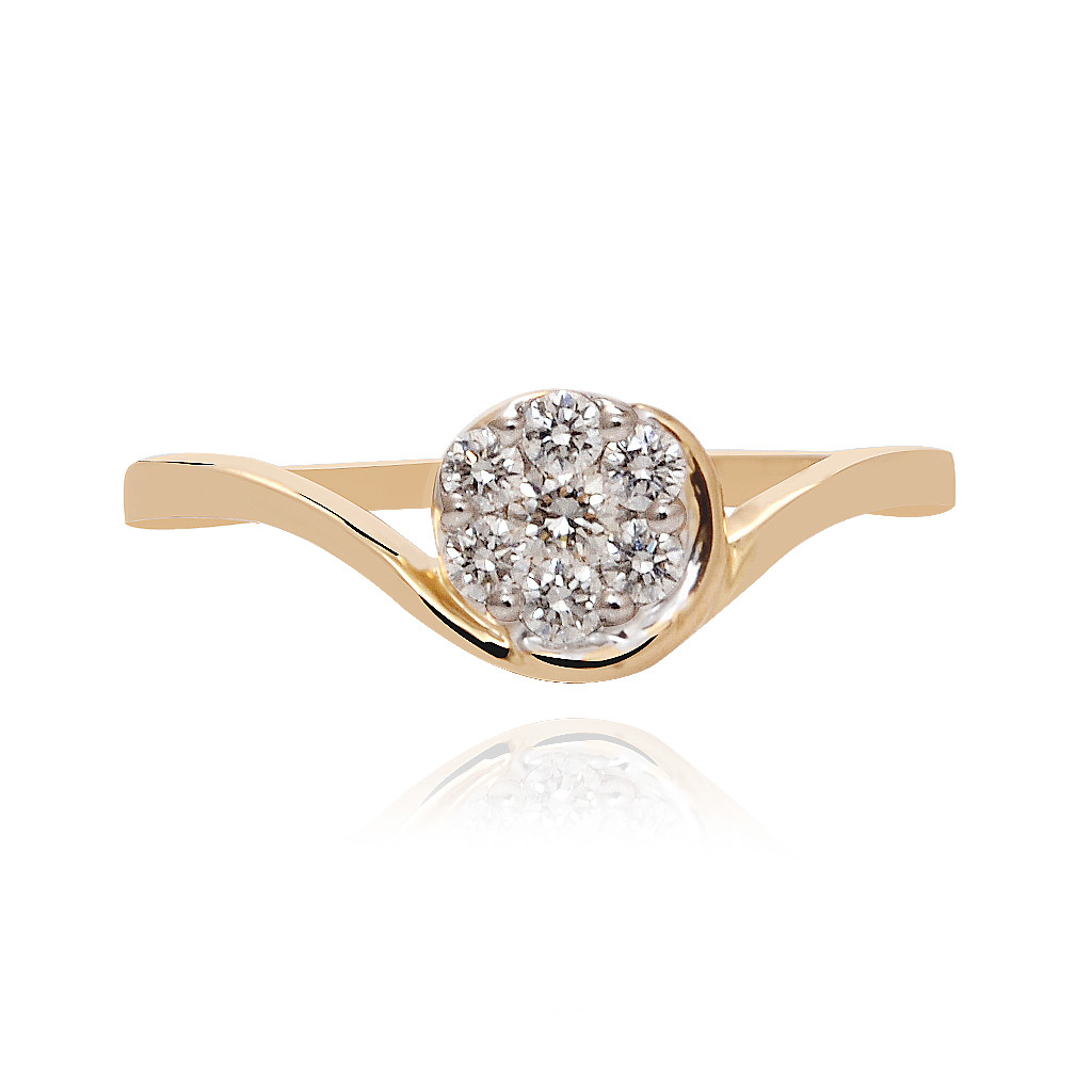Blossom Floral Diamond Ring