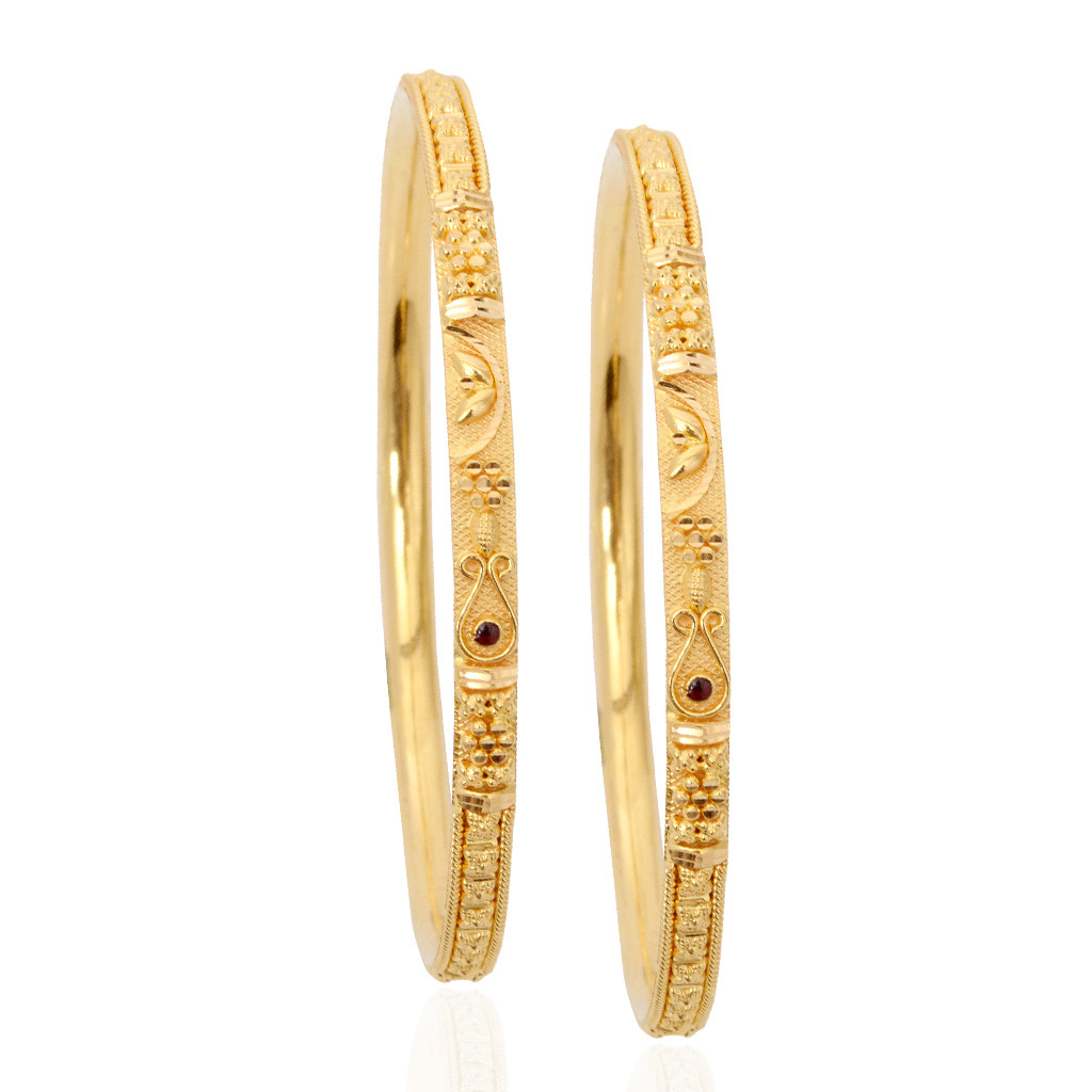 Daily Use Gold Bangles Design | Info