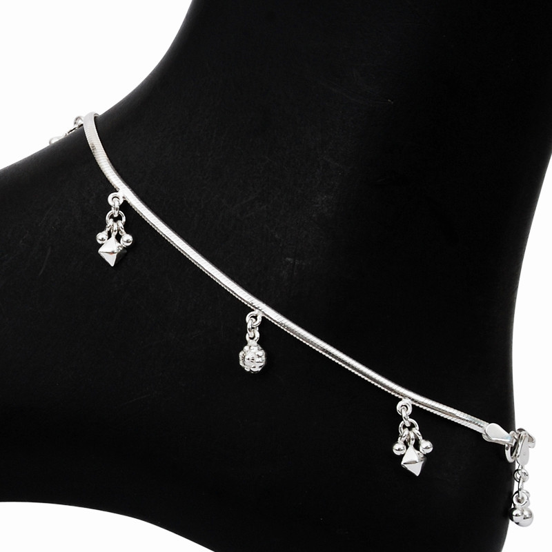 Exquisite Silver Anklets