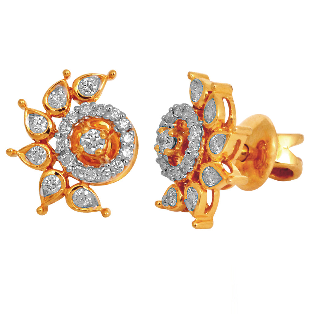Outlandish Stylish Of Diamond Earrings