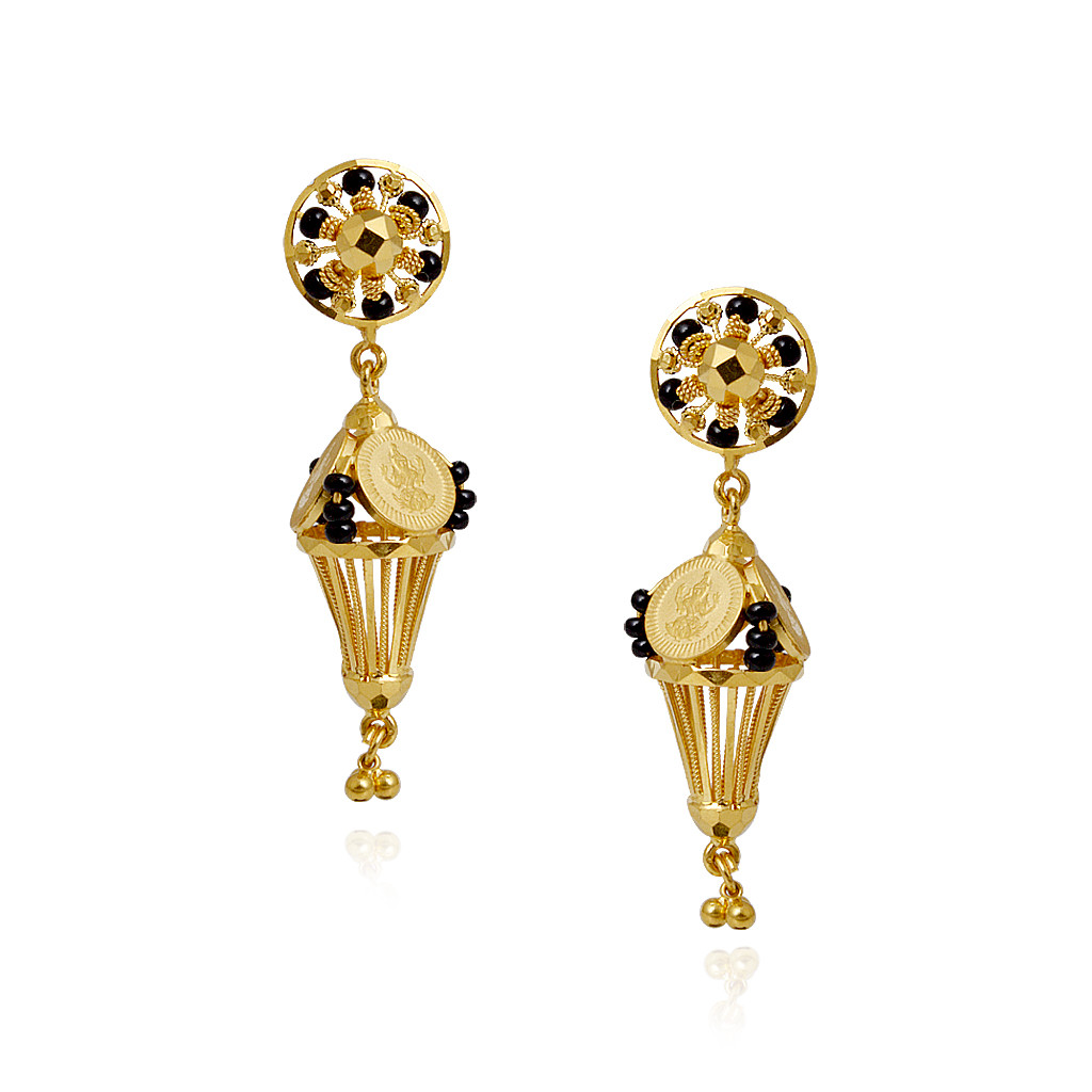 Gold earrings kolkata designs ~ beautify themselves with earrings