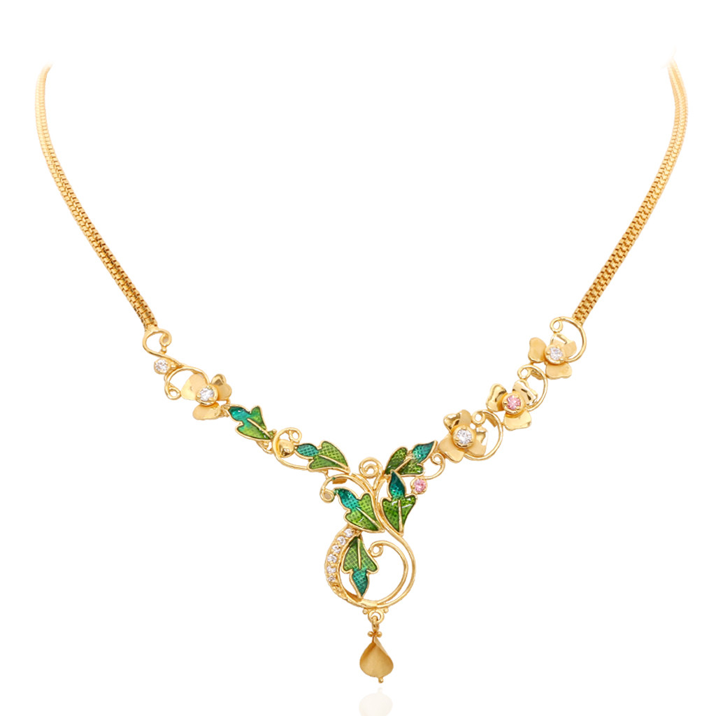 Oriana - The Light Weight Jewellery | The Enameled Leaf ...