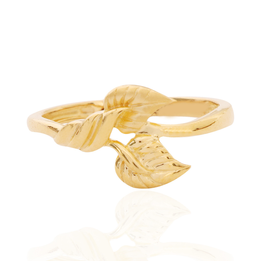 The Duo Aspen Gold Ring