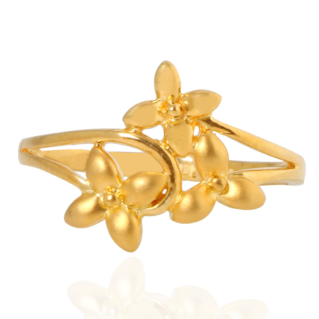 The Mystic Floriated Gold Ring