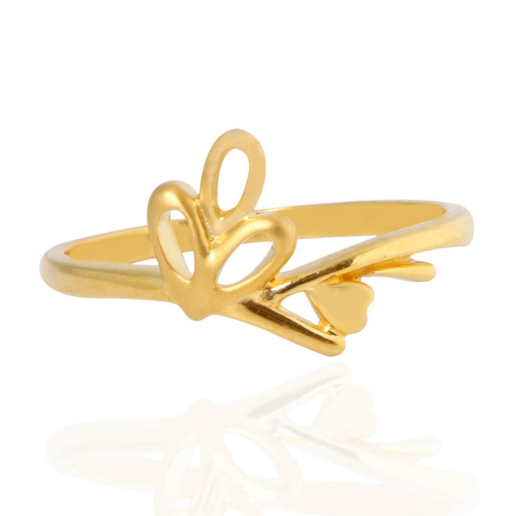 The Keira Fushion Gold Ring