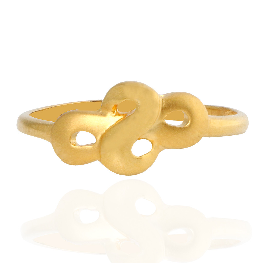 The Emily Knotted Gold Ring