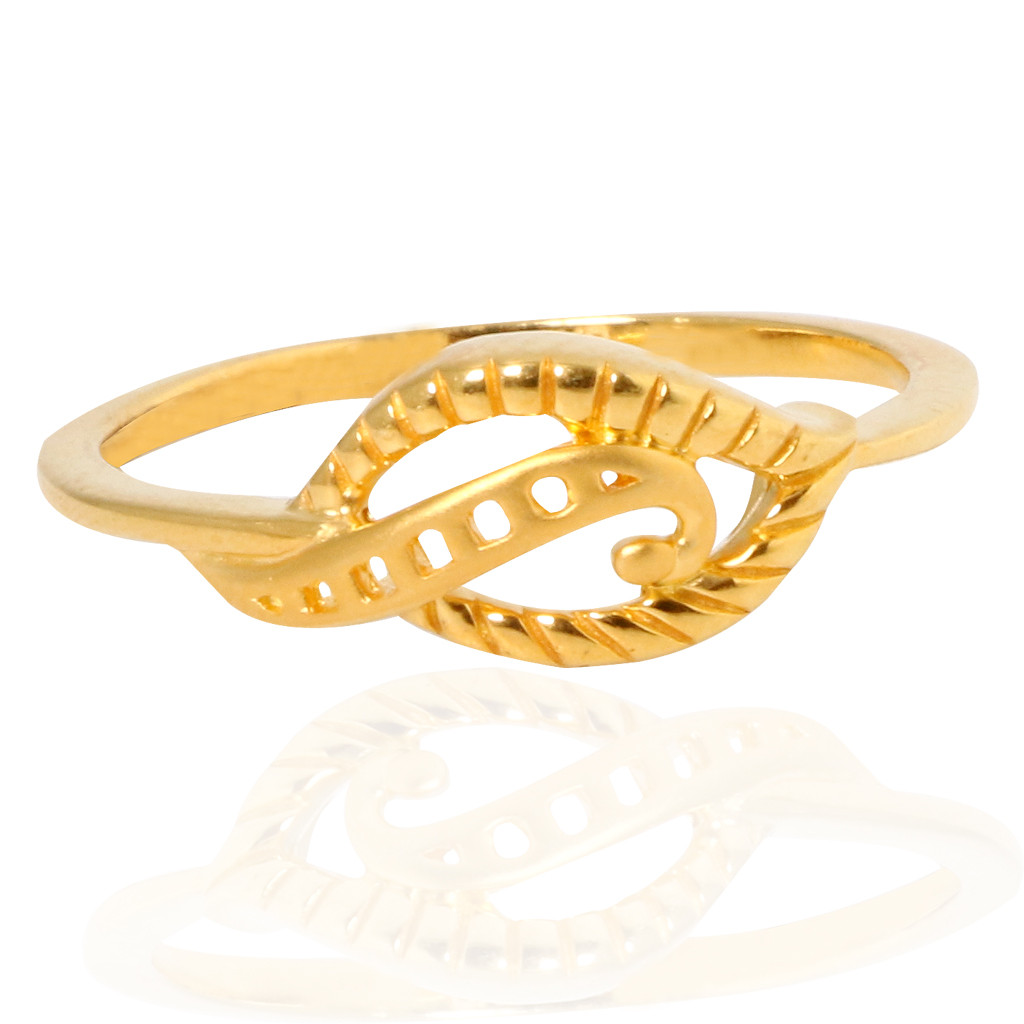 The Eves Wave Gold Ring