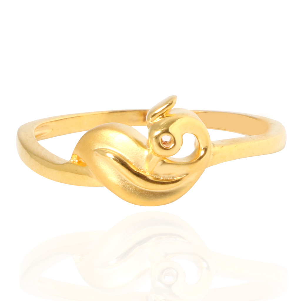 The Holy Bird Gold Ring