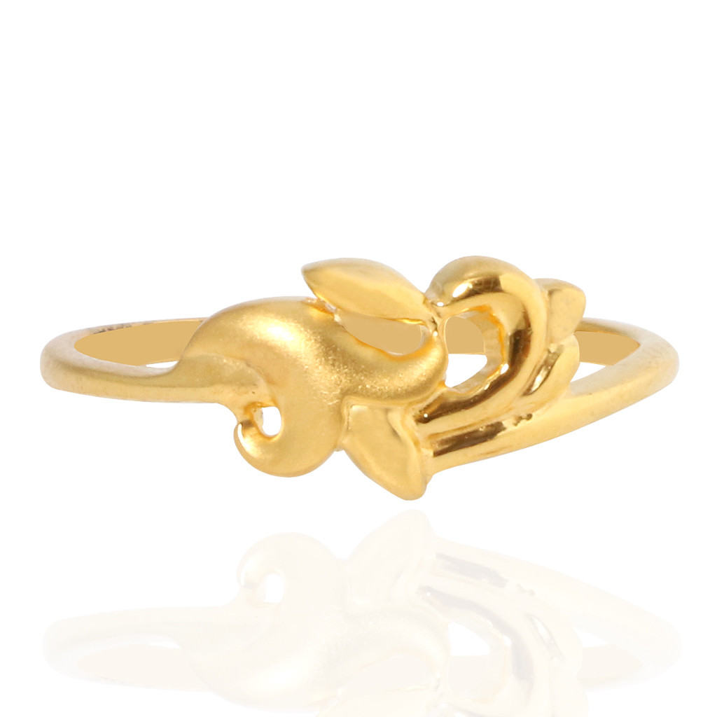 The Ria Gold Ring