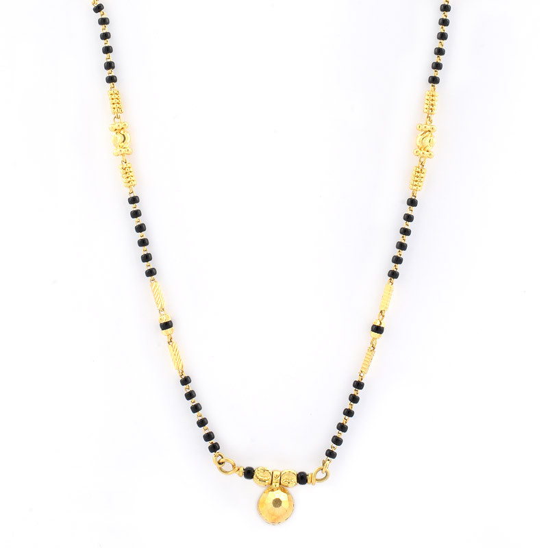 Mangalsutra - Black Beads Necklace