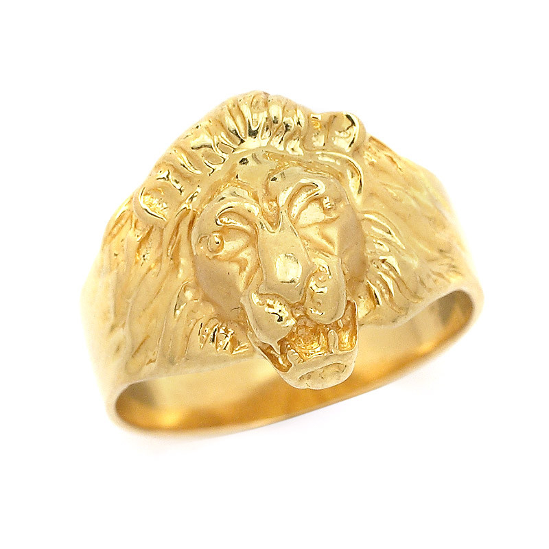 Rings Ornate Lion Face Ring Grt Jewellers