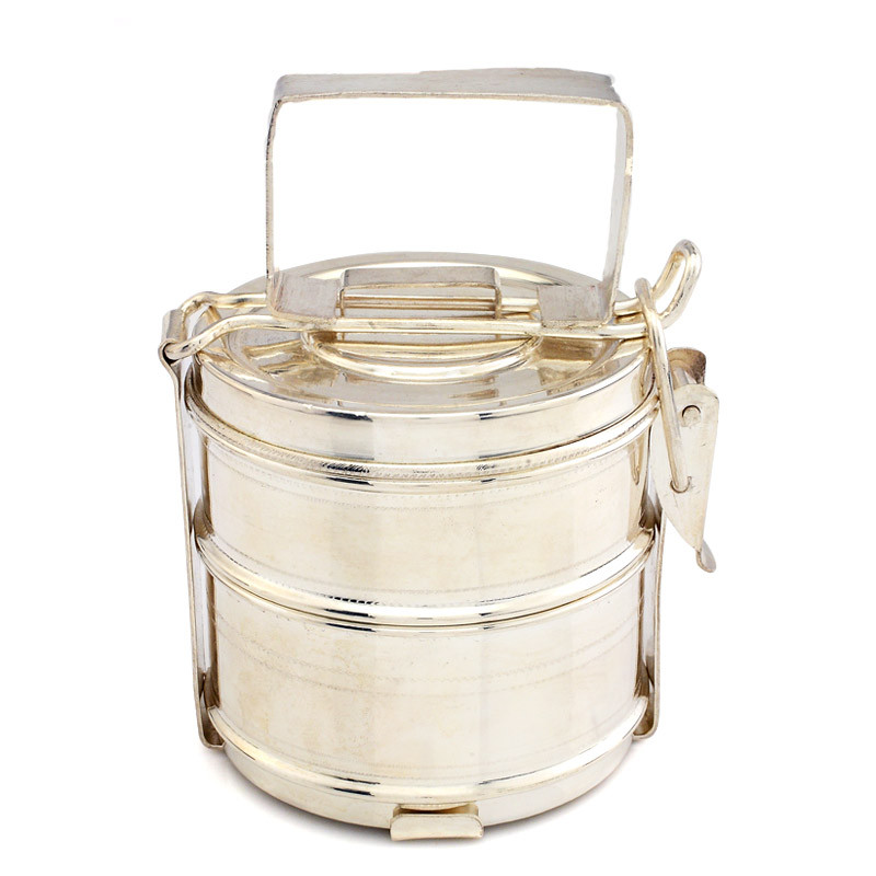 Silver Tiffin Box