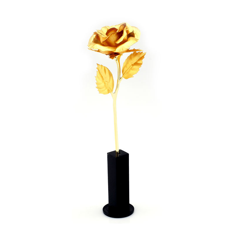 24 kt Gold Dipped Rose