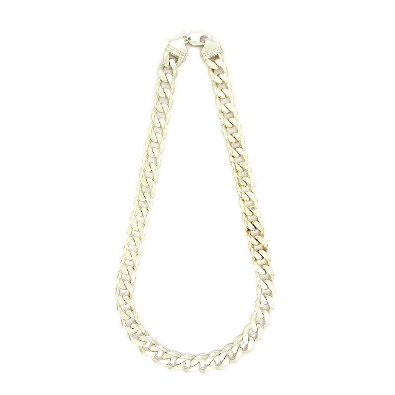 92.5 Silver Men's Curb Chain
