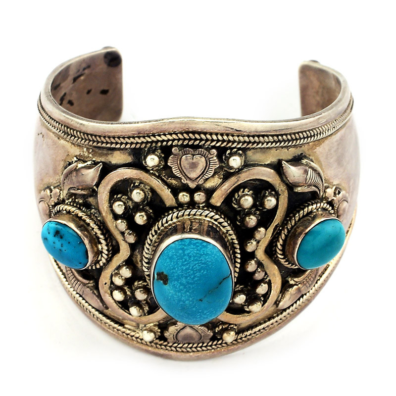 Antique Finish Cuff Bracelet
