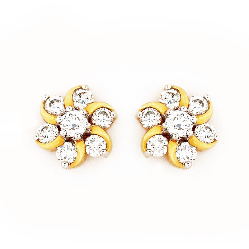 Nakshatra Collection Diamond Earrings