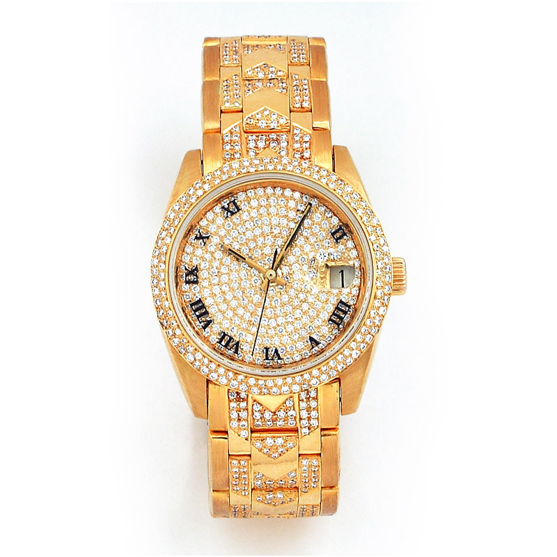 Diamond Bezel Watch