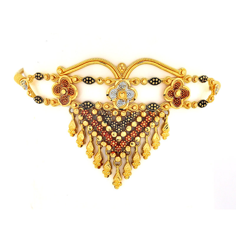 Fancy Color Chokar Type Armlet - Bajuband