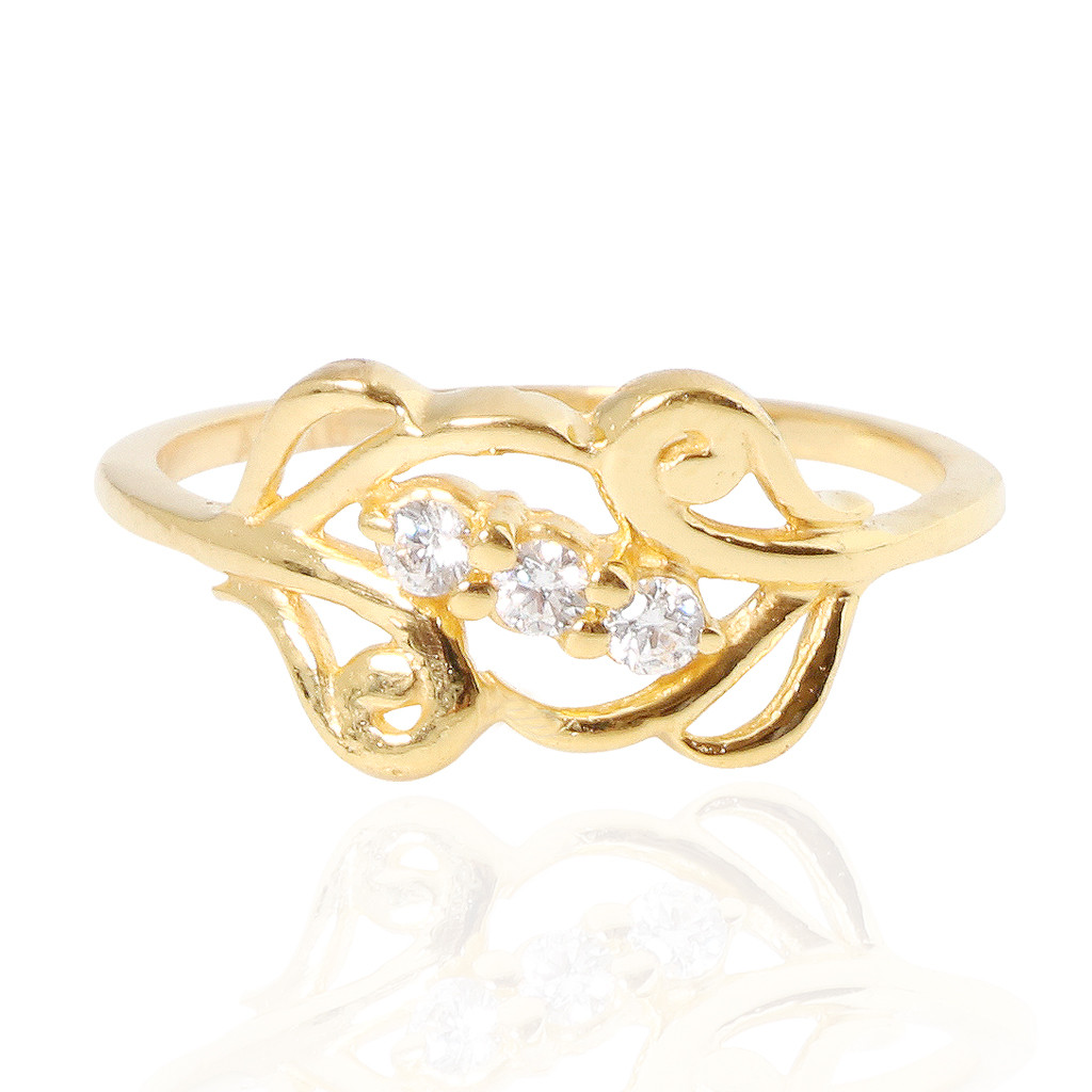 The Fusia Milena Gold Ring
