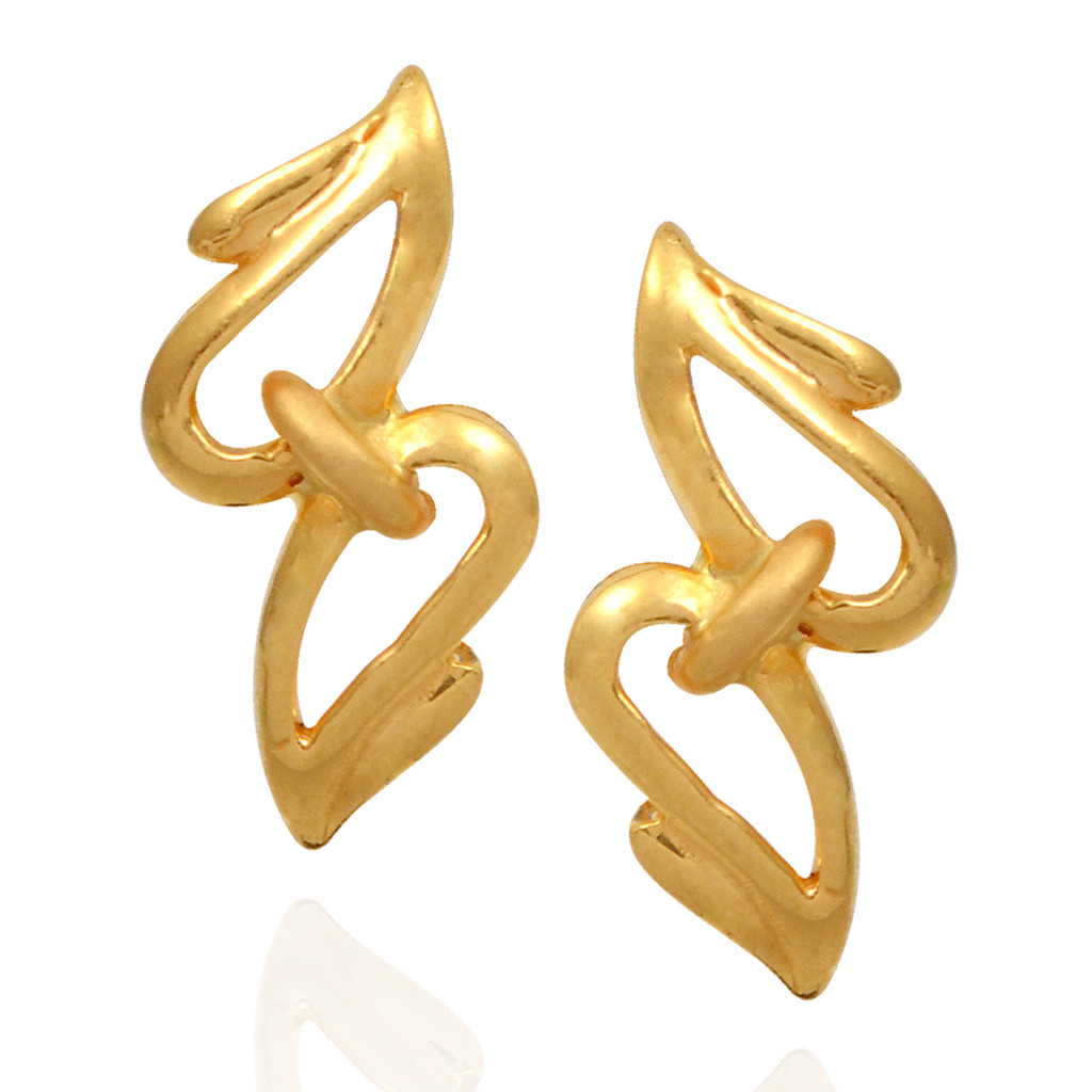 Gold-Small Cut Out Casting Stud