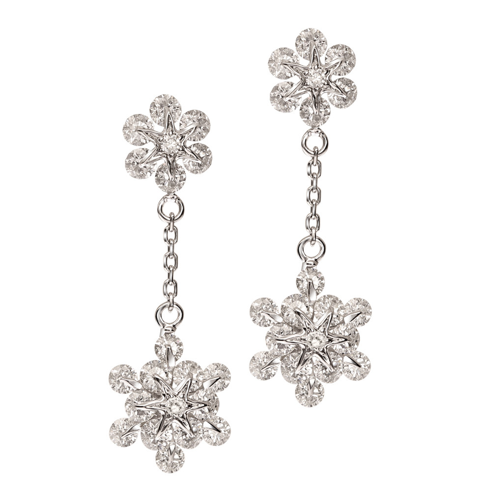 The Kiran Kanupriya Diamond Earrings