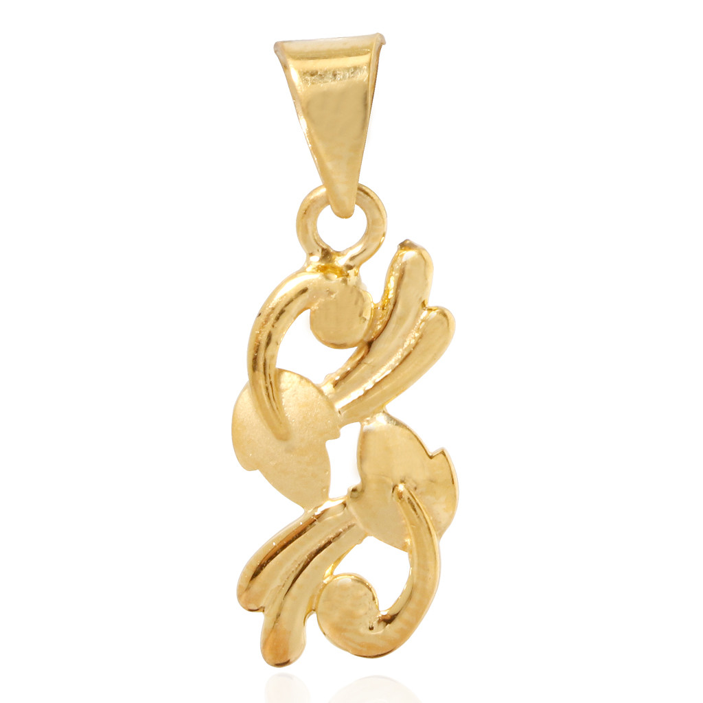Samaira Stylish Gold Pendant