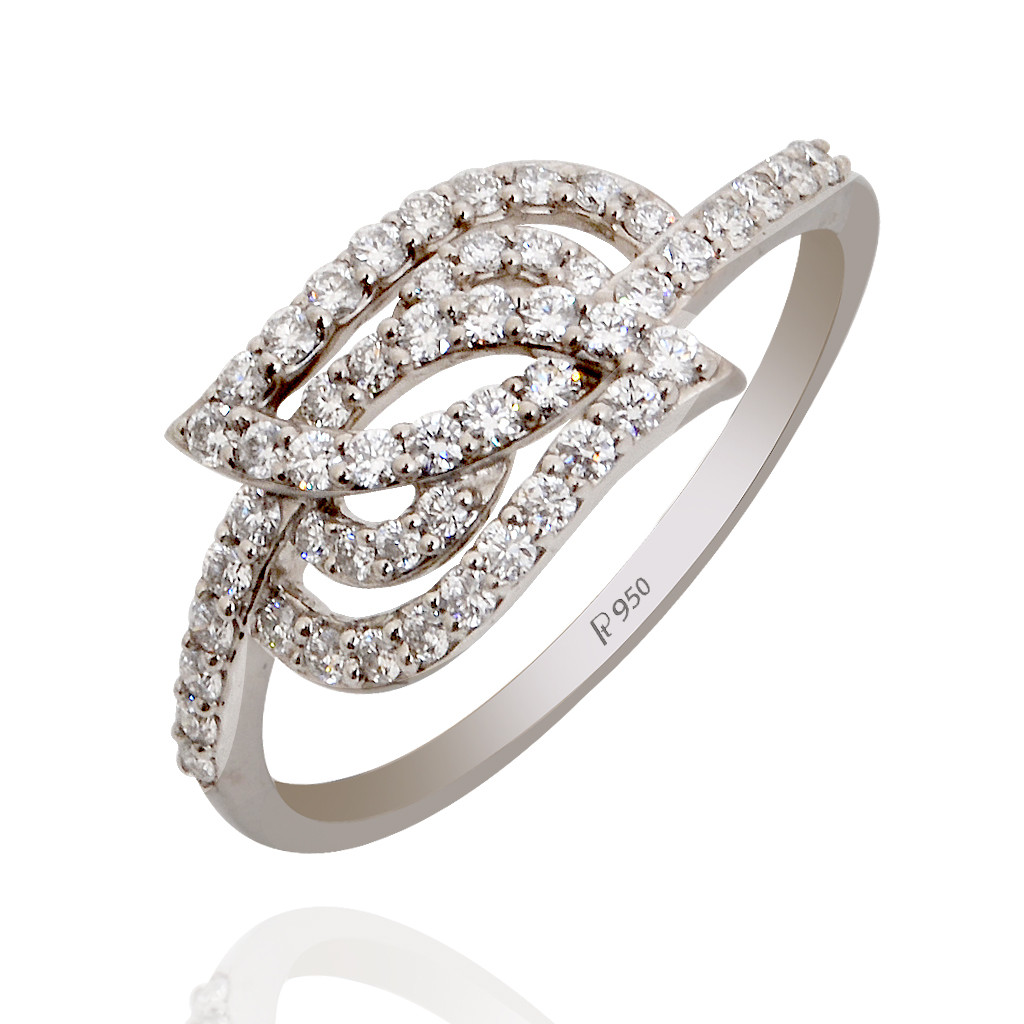 Grace Platinum Ring