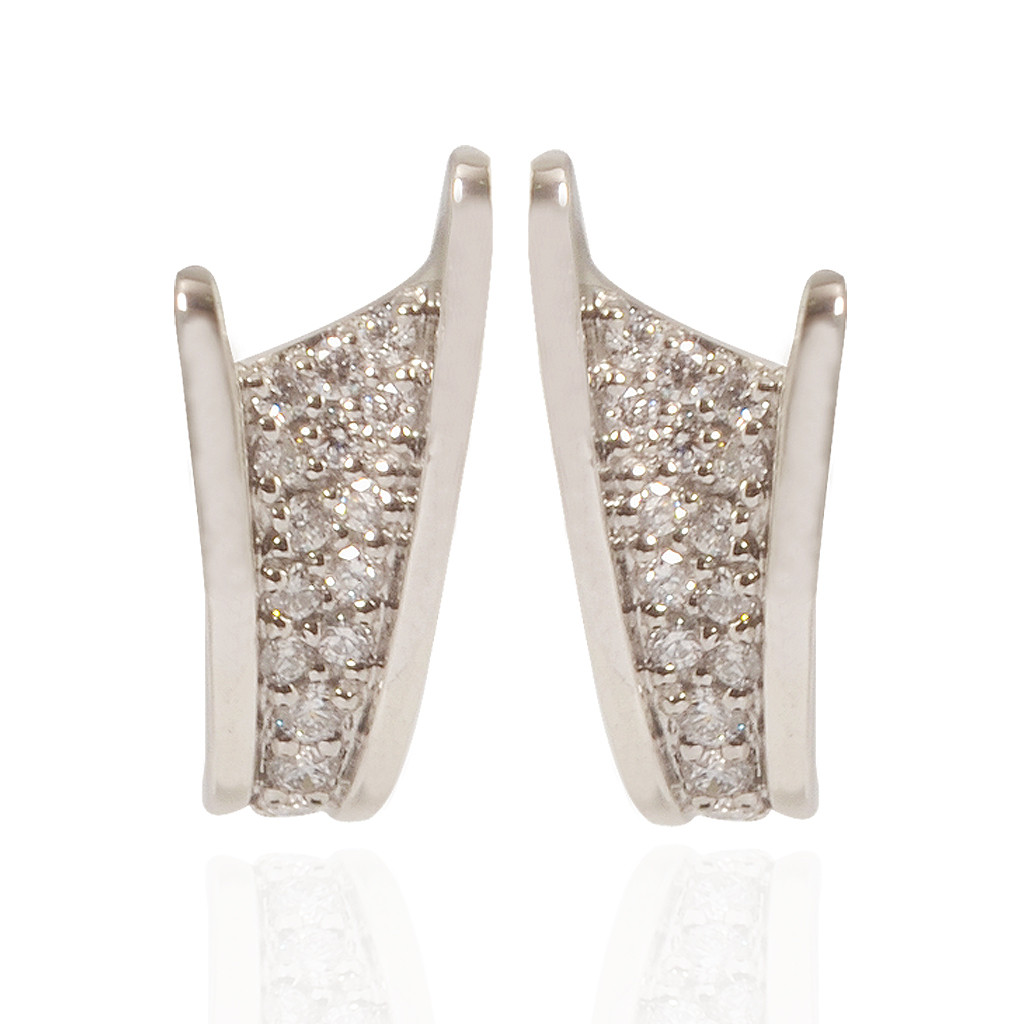 The Platinum Byzantine Earrings