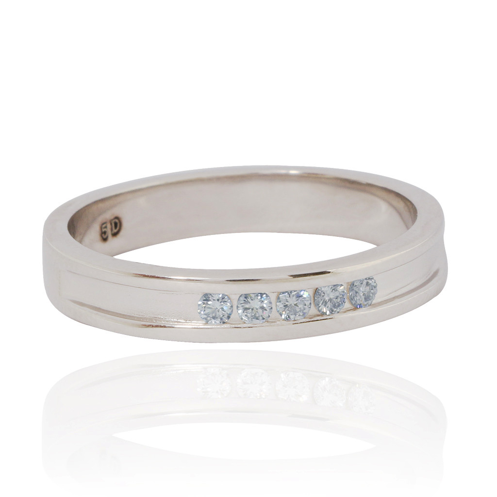 Hamesha Charming Platinum Love Ring