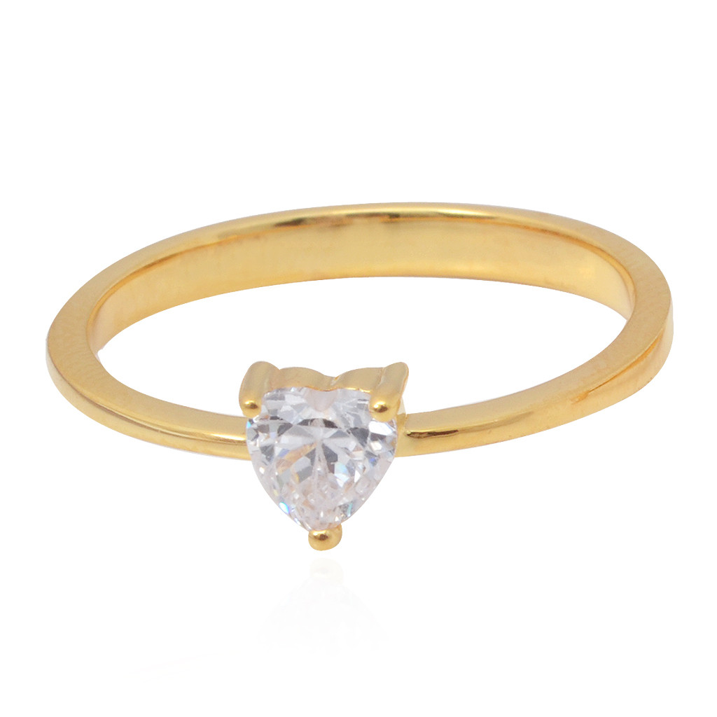 Heart Shaped Couple Band Ring