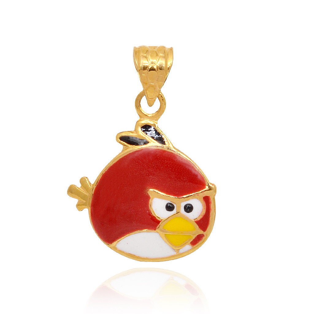 Crazy Kids Collection Angry Birds Pendant Set