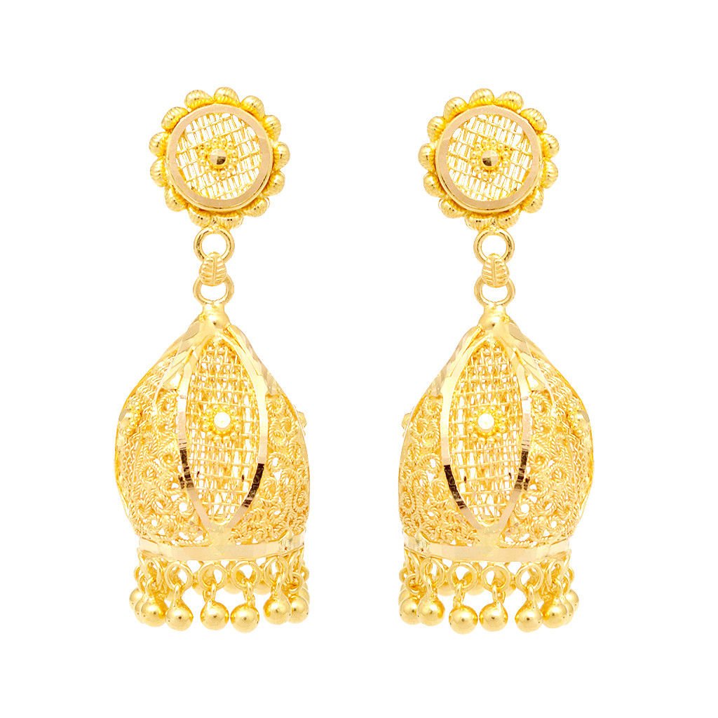 Gold Earring Designs For Women Tops - More information - wypadki24 ...