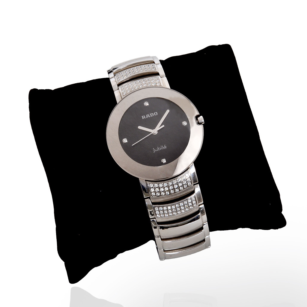 Diamond Rado Watch with Scratch proof
