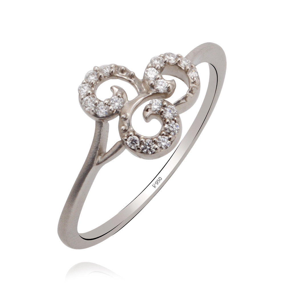 rings enchanting floral platinum ring grt jewellers