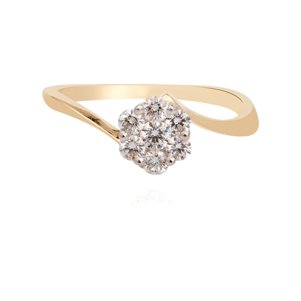 Floral Blossom Diamond ring