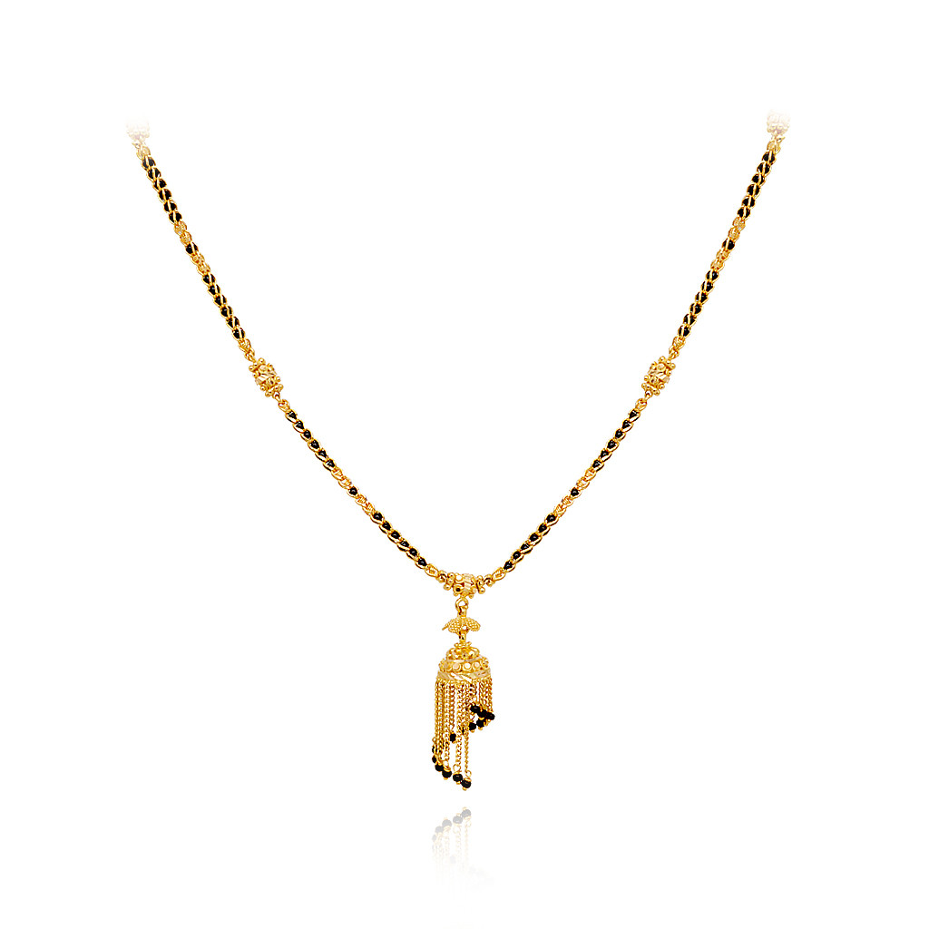 Dancing Bell Shape Gold Chain