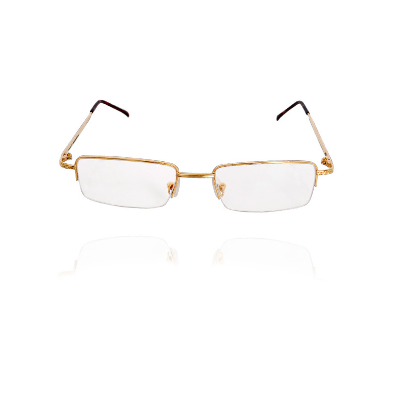 Gold Eyeglass Frame