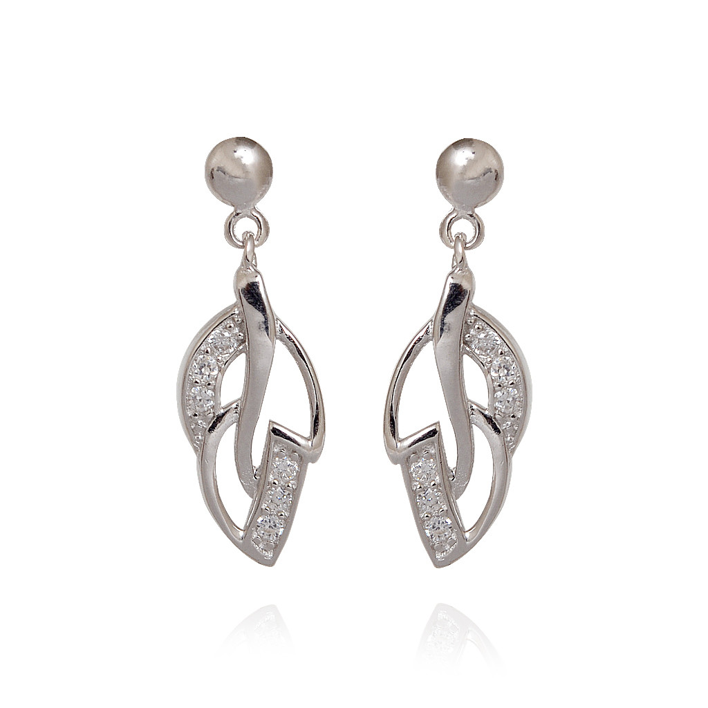 Imperial Silver Earring