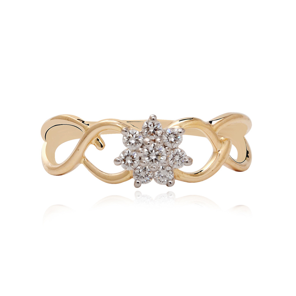 Infinity Love Diamond Ring