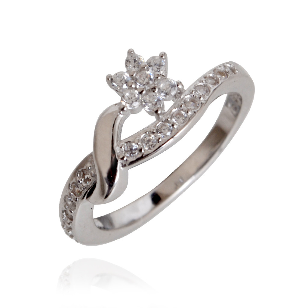 Classic 7-Stone Silver Ring